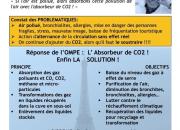 Pollution : l'OMPE lance l'idée de l'Absorbeur de CO2