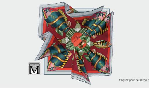 Personnalisez votre foulard