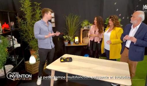 Jeudi 11 juillet : VAINQUEUR FINALE M6 : Antoine, l'inventeur de Liggoo, âgé de 23 ans VAINQUEUR de la finale de l'émission M6