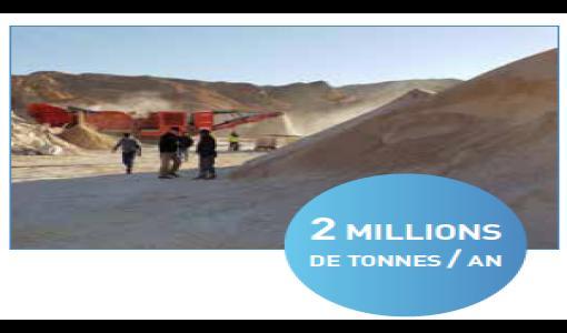 CHLORAL, premier groupe minier privé algérien au PDAC