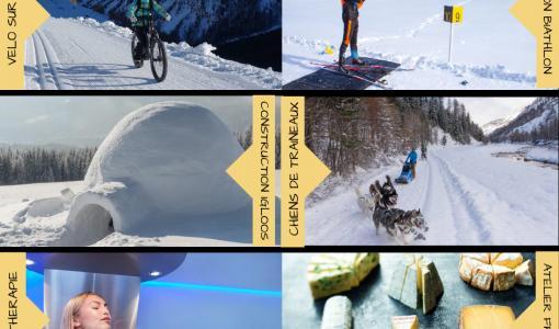 Bientôt les vacances de février... Whereez, le site qui révolutionne vos sorties d'après-ski !
