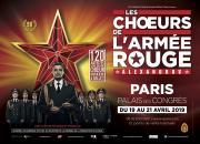 Les Chœurs de l'Armée Rouge en France !
