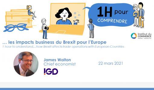 INVITATION : UNE HEURE POUR COMPRENDRE LES IMPACTS BUSINESS DU BREXIT POUR L'EUROPE