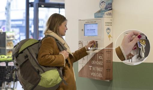 Une première en PACA: des consignes connectées dans les magasins Carrefour City de Nice