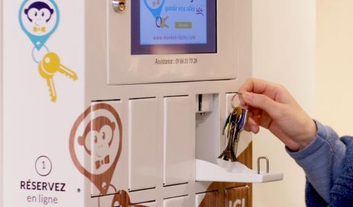 Une première à Marseille : une consigne connectée pour les clés aux Terrasses du Port