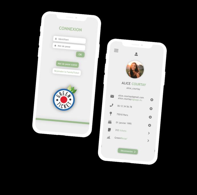 Visuel GreenTicket App 2