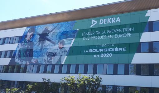 DEKRA regroupe ses activités au Plessis-Robinson