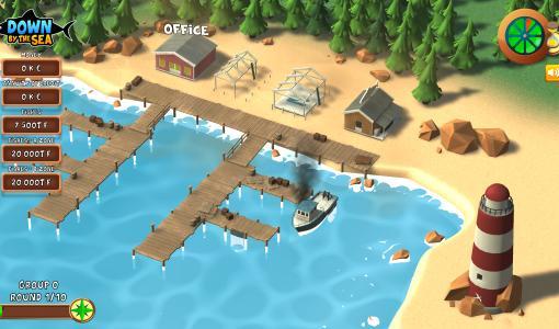 """Concilier économie et gestion des ressources naturelles : le jeu sérieux """"Down by the sea"""" met les étudiants au défi"""