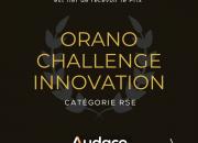 Audace Digital Learning reçoit le Trophée Orano Challenge Innovation, Catégorie RSE