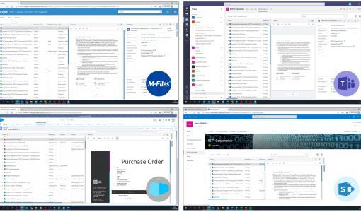 Le nouveau client Web M-Files offre une meilleure expérience utilisateur et permet une adoption et un ROI plus rapide de sa gestion de l'information