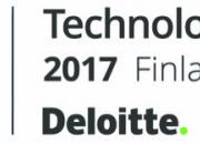 Liana Technologies se classe dans le Technology Fast 50 Finlande pour la huitième année consécutive